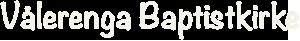 Vålerenga Baptistkirke Logo